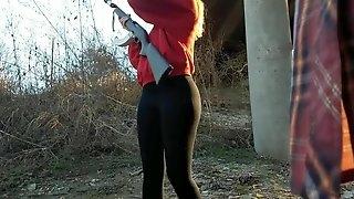Hot Slovak girl with nice ass