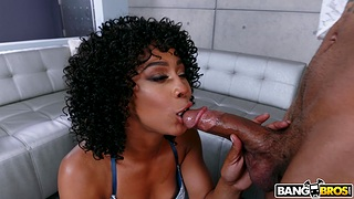 Sexual awe with a premium hyacinthine mom