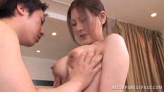 Messy creampie ending inspect amazing fucking less a Japanese cutie