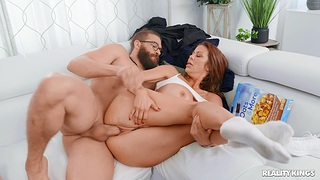 Cheating become man Alexis Fawx enjoys getting fucked by a broad in the beam dick dude