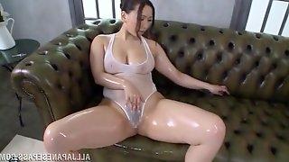 Steamy Sayuki Kanno Masturbates In A Solo Model Video
